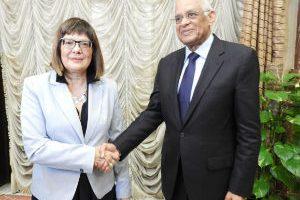 Gojković u Kairu sa predsednikom parlamenta Egipta