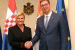 Vučić čestitao Dan držžavnosti predsednicima Hrvatske i Slovenije