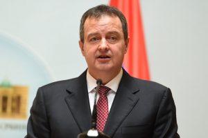 """""""BEZOBRAZLUK"""" Dačić: Otkazivanje samita u Parizu je poraz svih, ali najmanje Srbije"""