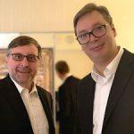 Vučić sa Palmerom i Vilsonom – glavna tema odnos Beograda i Prištine