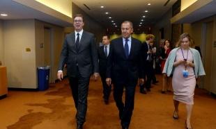 RAZGOVOR U NjUJORKU: Vučić se sastao sa Lavrovom