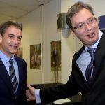 Vučić sa Micotakisom: Kosovo je centralna tema
