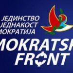 ZAHTEV DEMOKRATSKOG FRONTA: Srpski službeni jezik, trobojka i himna bez Sekule
