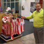 Potpredsedniku Partizana nije se dopao stalak u radnji na aerodromu, pa je sam napravio reorganizaciju (VIDEO)