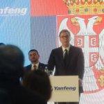 Vučić: Oni snajper u mene, a ja ću vrh olovke na mapu za novu fabriku