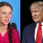 Predsednikova glava na telu druge osobe: Tramp kao Greta Tunberg  (FOTO)