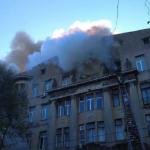 Lokalizovan požar u Odesi
