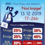 """Poklanjamo knjige: Novosti i Laguna nagrađuju čitaoce povodom """"Noći knjige"""""""