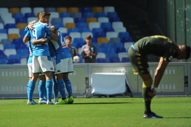 Kup Italije - Napoli u četvrtfinalu, Rimljani na potezu