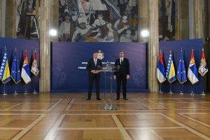 """Razgovori o saradnji Srbije i RS – """"očuvanje mira nasušna potreba srpskog naroda"""""""