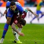 BL - Verder nastavio da tone, Grujiću poluvreme u porazu Herte, Nastasić