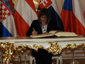 Maja Gojković u Bratislavi o regionalnoj saradnji