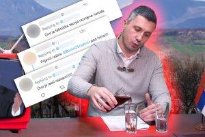 """""""ŠPRICER RASIZAM"""" Boško Obradović Srbe i  migrante uporedio sa pićem, i na kraju smućkao KSENOFOBIČNI OTROV"""