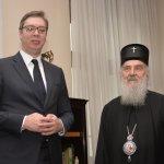 Vučić sa Irinejem pre odluke o uvođenju vanrednog stanja ili upotrebe vojske u civilne svrhe