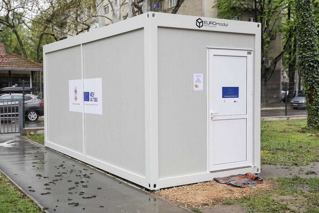 Stigla pomoć iz EU: Kontejneri za trijažu pacijenata postavljeni u bolnicama u Beogradu