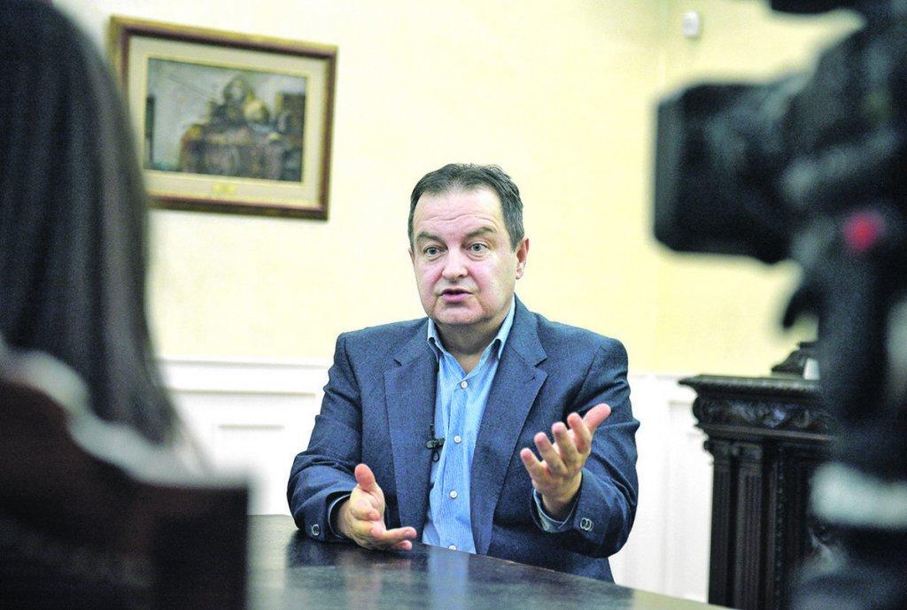 Dačić: Želimo najbolje odnose sa Crnom Gorom, odgovoriću Darmanoviću