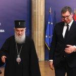 Američka agencija AP izvestila o sastanku Vučića i patrijarha Irineja