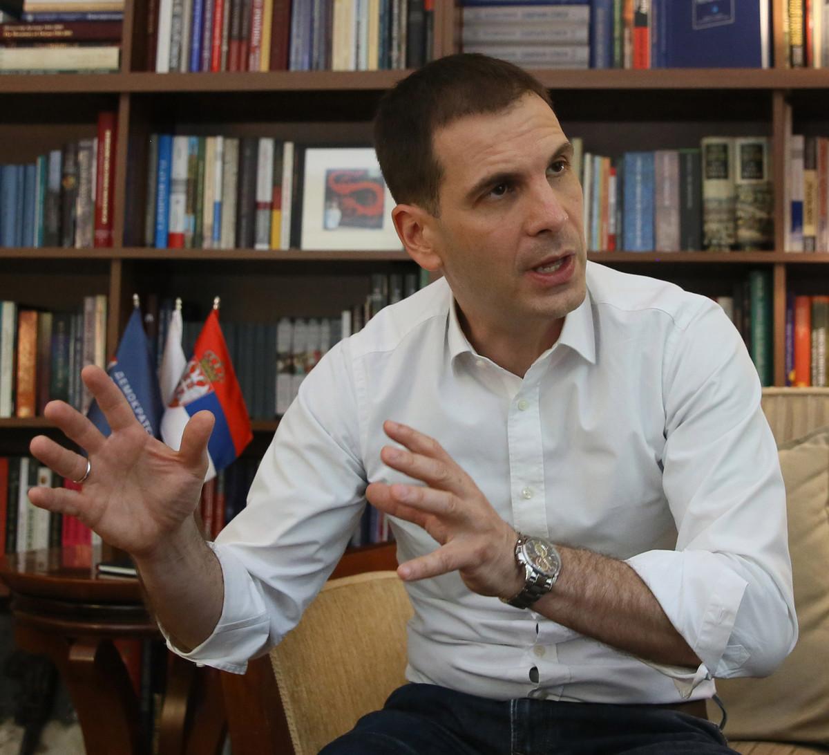 Jovanović: Donećemo zakon o poreklu imovine za nosioce javnih funkcija od 1990. do danas