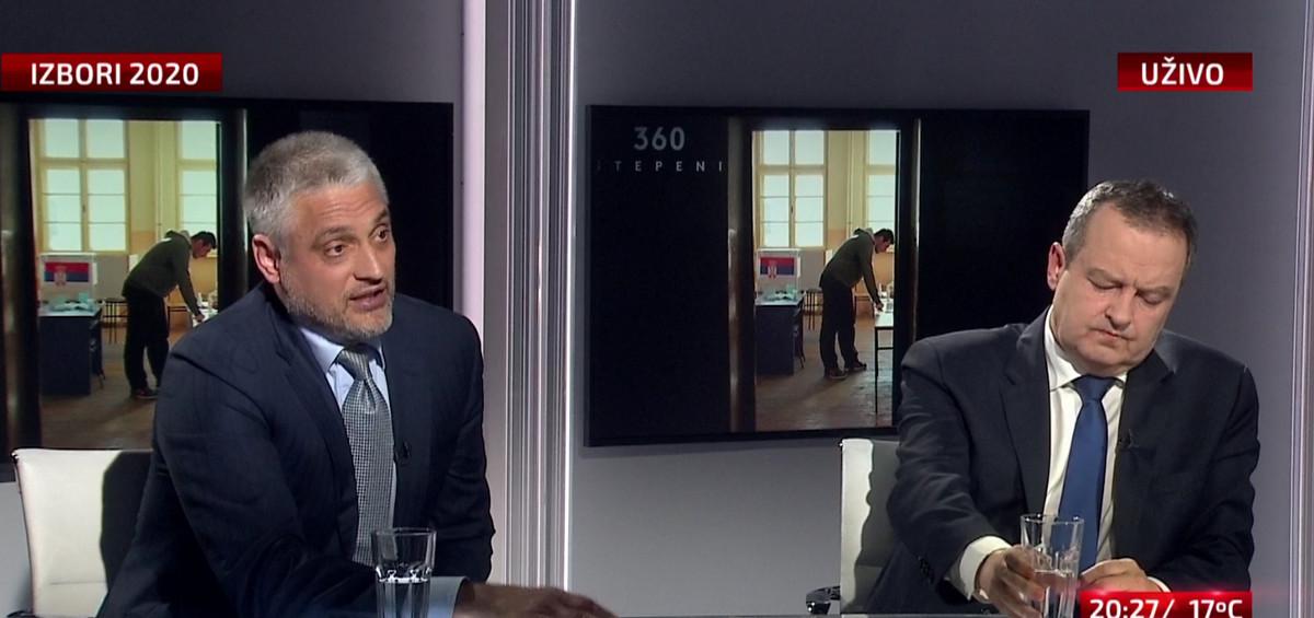 """ČEDA I DAČIĆ ZAKOPALI RATNE SEKIRE Nakon niza okršaja, sada složni oko opozicije: """"Ne, to nije mnogo stranaka to je RASPALI ĐILASOV PROJEKAT"""""""