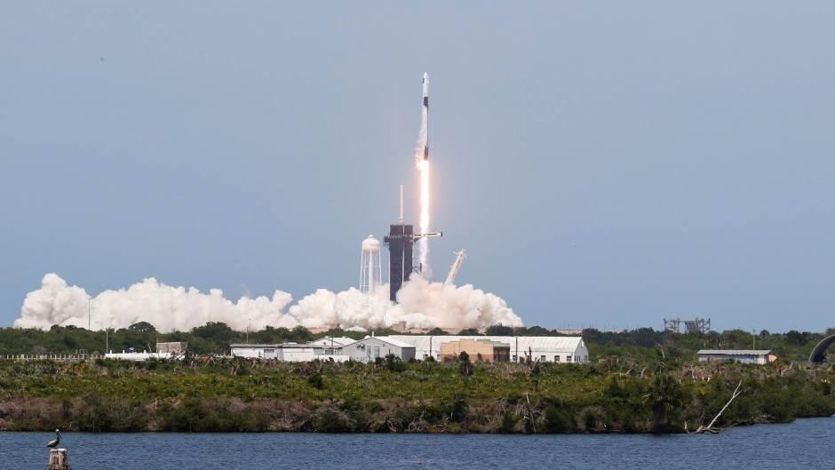 Lansiranje rakete SpaceX