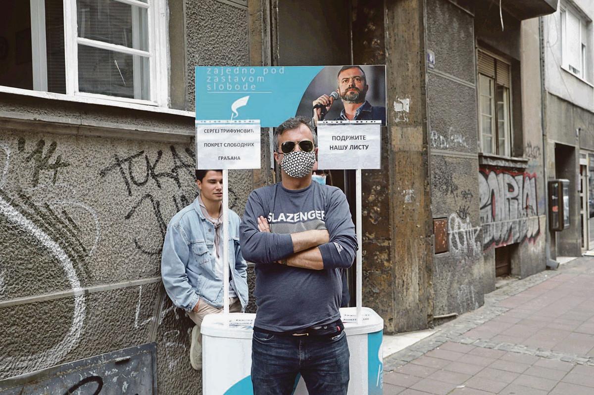 """""""U LUDILU SAM I U ŽURBI"""" Lider Pokreta slobodnih građana se oglasio posle napada u Knez Mihailovoj"""