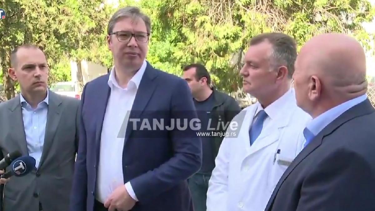 """Vučić: """"Ako privreda krene, do kraja godine još jedno POVEĆANJE PLATA za zdravstvene radnike"""""""