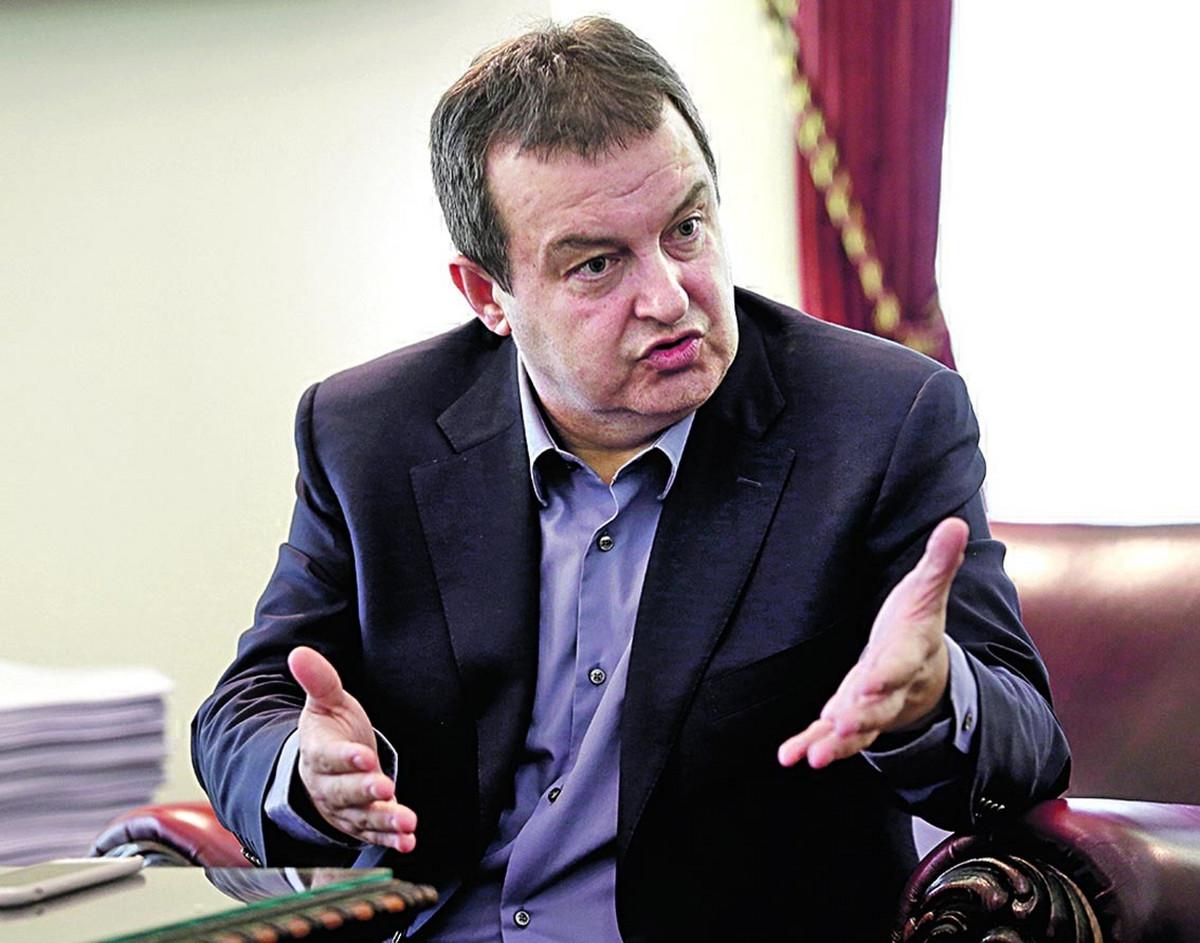 """""""KAD PRESTANU ONI, PRESTAĆEMO I MI"""" Dačić: Srbija nije zaustavila kampanju za povlačenja priznanja Kosova"""