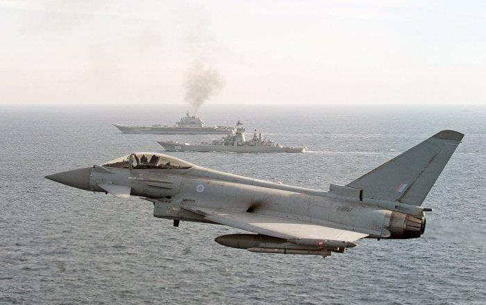 """Britanci podigli """"Tajfune"""" da isprate Ruse iznad Baltičkog mora"""