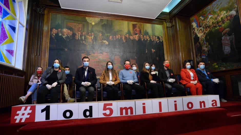"""RIK utvrdio da Grupi građana """"1 od 5 miliona"""" nedostaju 732 potpisa"""