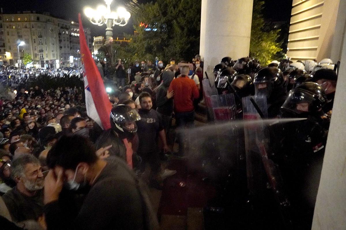 "CEAS: Glavne vođe ""nasilnih demonstracija pro-ruski nastrojeni akteri"", osuđujemo nasilje i vandalizam"