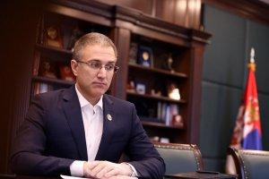 Stefanović: Sve je mirno, nema nasilja, u Beogradu bilo oko 1.100 ljudi