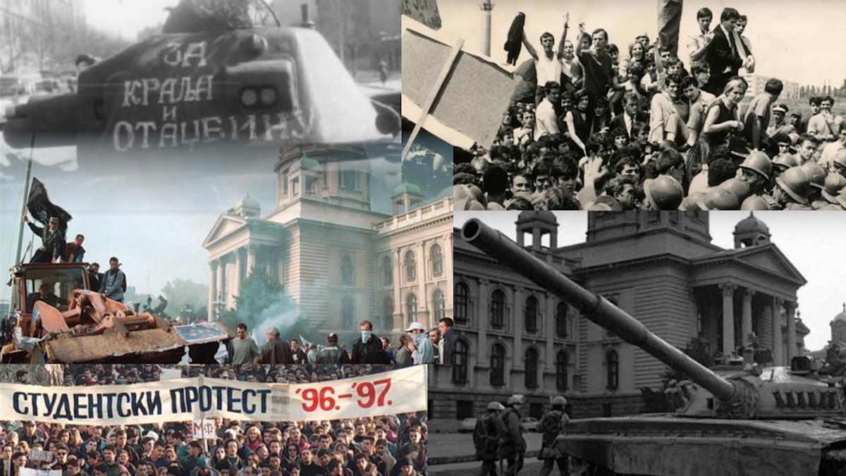 """Od """"bolje rat nego pakt, do """"GOTOV JE!"""": Srbi rado izalze na ulice da iskažu bunt, a ovo je PET NAJVEĆIH PROTESTA u istoriji Srbije! (VIDEO)"""