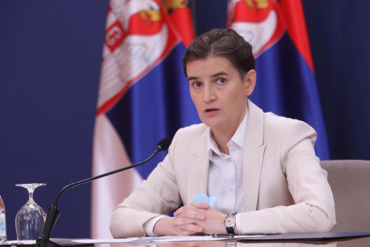 Brnabić održala video sastanak sa Fabricijem i ambasadorima EU