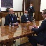 Nastavljene konsultacije o formiranju vlade, Vučić sa Zukorlićem i Pastorom