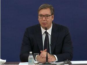 Vučić o dijalogu: Mi ništa ne znamo o pisanju završnog sporazuma u Briselu