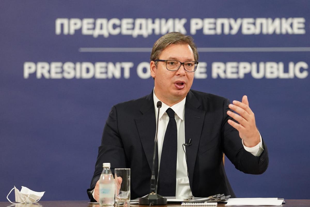 Vučić danas na konferenciji za novinare Kriznog štaba za borbu protiv korone