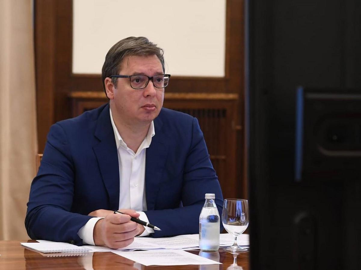 Vučić danas razgovara sa nemačkim ministrom za privredu i energetiku