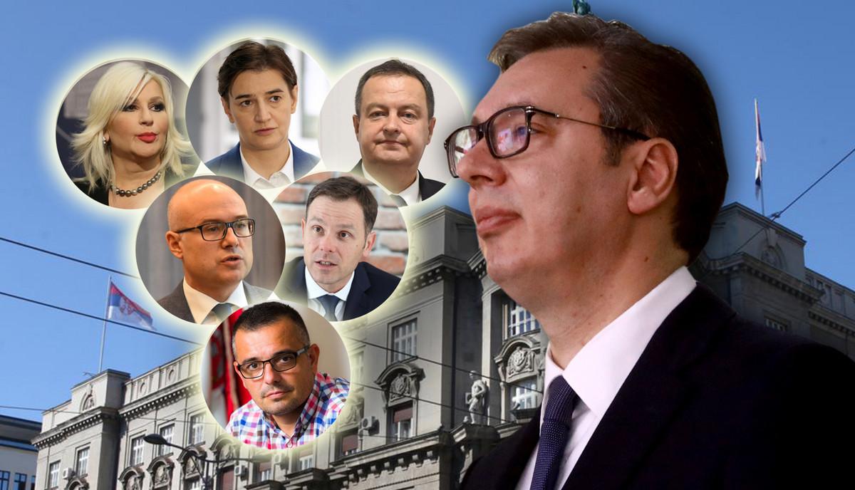 """NEKO ĆE DA SE MENJA, NEKO DA SE DELI, A NEKO JE """"SIGURICA"""" Vlada Srbije još je """"na čekanju"""", a evo šta do sada o njoj (NE)ZNAMO"""
