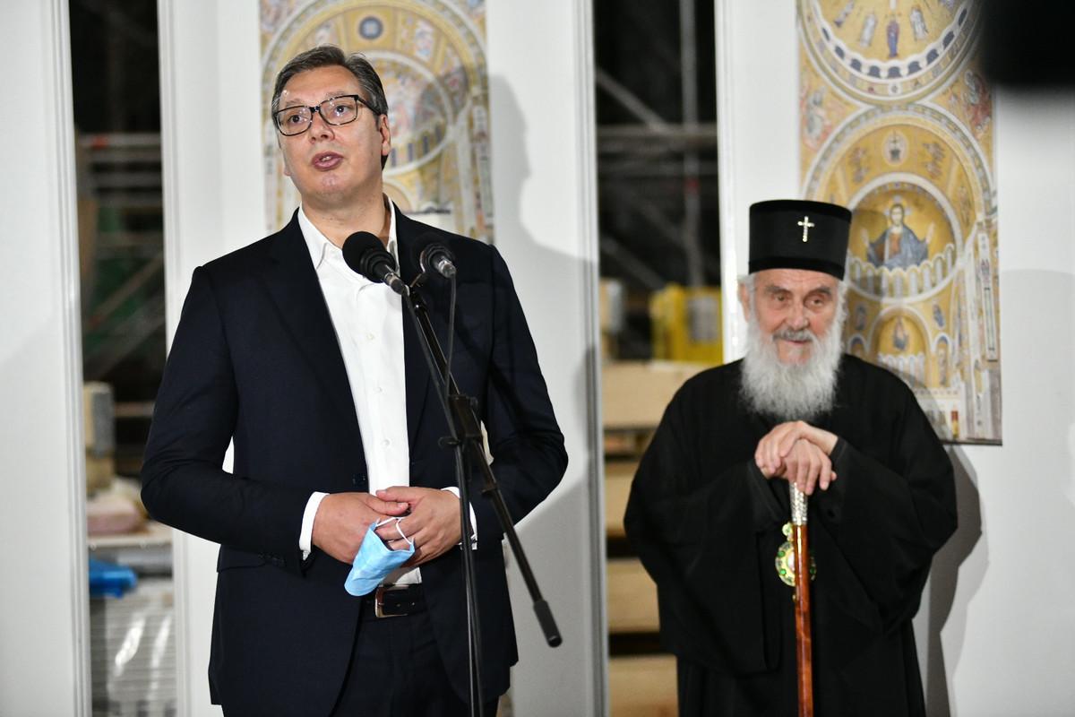 Vučić čestitao patrijarhu Irineju   90. rođendan: Na mnogaja ljeta, Svjatjejši vladiko