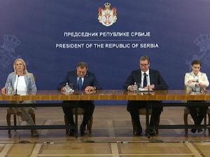 Vučić: Projekti pomoći Srpskoj, očuvanje mira od suštinskog značaja