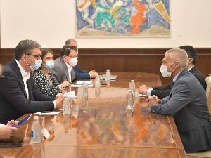 Vučić i Bocan-Harčenko o aktuelnim pitanjima i bilateralnoj saradnji