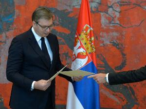 Vučić primio akreditivna pisma novih ambasadora Slovenije, Poljske i Kambodže