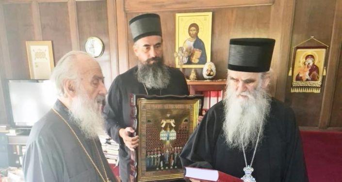 Patrijarh Irinej i mitropolit Amfilohije sastali se u Beogradu