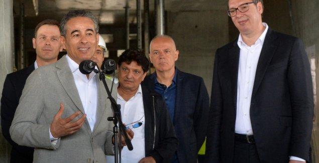"Vučić i Alabar sutra obilaze ""Beograd na vodi"""
