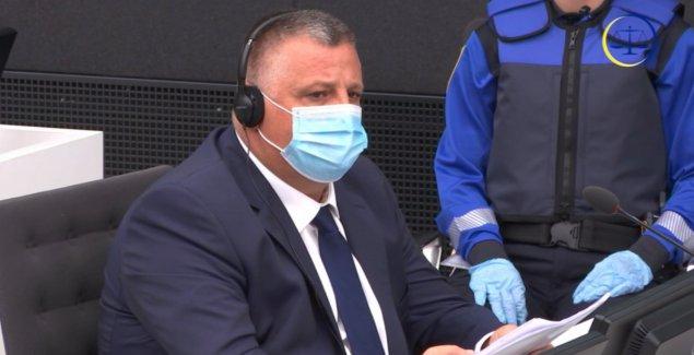 """""""NE PRIHVATAM HAPŠENJE"""" Haradinaj u Hagu poručio sudu da mu je ISTEKAO MANDAT, a političare iz Prištine optužio za njegovo postojanje"""
