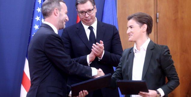 Direktor DFC-a zahvalio Vučiću i Brnabić na saradnji