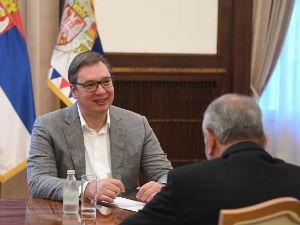 Vučić sa Nabhanom: Srbija posvećena unapređenju odnosa i sa Izraelom i sa Palestinom