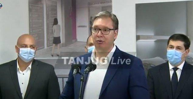 Vučić: Nastavljamo ka EU, ali čuvamo svoj obraz i istorijska prijateljstva. Stojim iza svake svoje reči bez obzira kome sam se u EU zamerio
