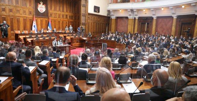 ODBROJAVANJE POČINJE Danas sednica parlamenta, Srbija dobija nove poslanike sa DAČIĆEM NA ČELU