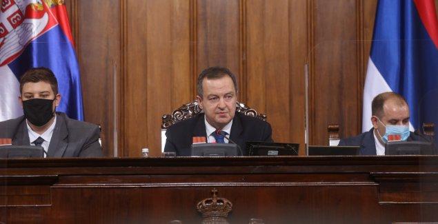 """Dačić: """"Oni koji govore da sam nazadovao, o parlamentu misle najgore"""""""